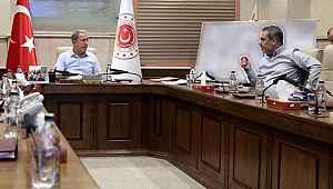 Bakan Akar, MİT Başkanı Hakan Fidan'la görüştü