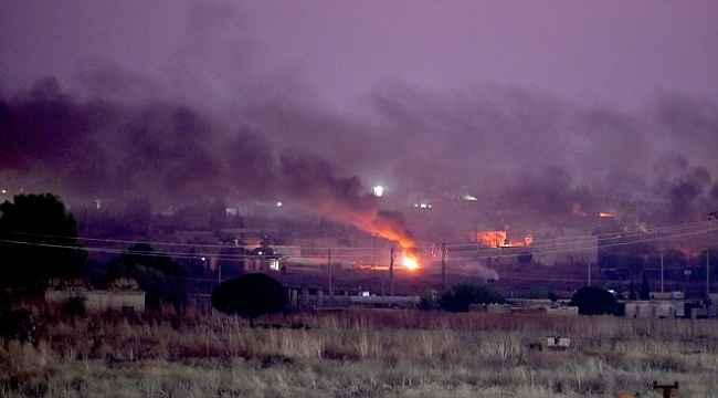 Barış Pınarı Harekatı'nda TSK, 30 kilometre derinliğe girdi