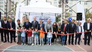 Baykoca semt sahası törenle açıldı - Bursa Haberleri