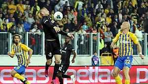 Beşiktaş deplasmanda Ankaragücü ile golsüz berabere kaldı