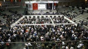 Beşiktaş'ta başkanlık seçimine yoğun katılım