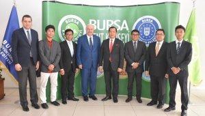 Büyükelçi İkbal'den konseye ziyaret - Bursa Haberleri