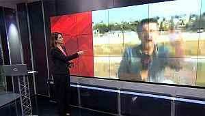 CNN Türk canlı yayını sırasında patlama oldu