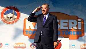 Cumhurbaşkanı Erdoğan asker selamı verdi