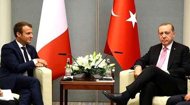 Cumhurbaşkanı Erdoğan'dan Macron'a tepki