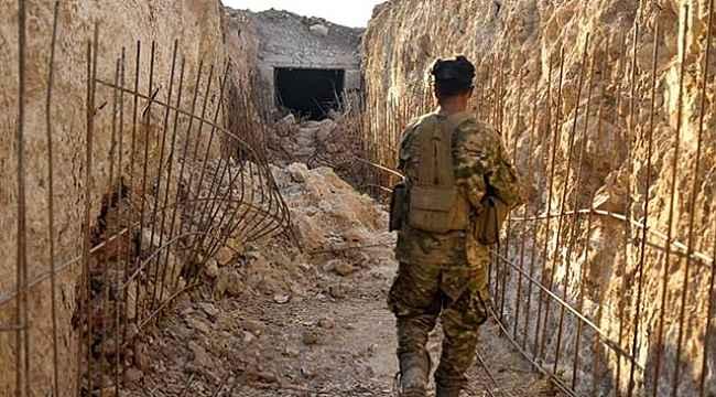 Cumhurbaşkanı Erdoğan'ın dile getirdiği tünellerde teröristler kıstırıldı