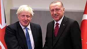Cumhurbaşkanı Erdoğan, İngiltere Başbakanı Boris Johnson ile 'Barış Pınarı Harekatı' görüşmesi