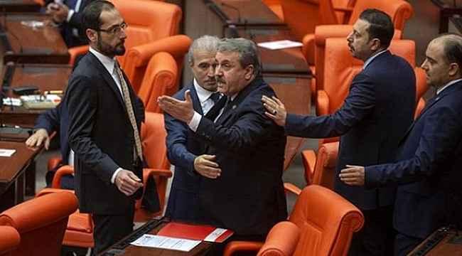 Destici, kendisine söz vermeyen HDP'li Sancar'a sert çıktı