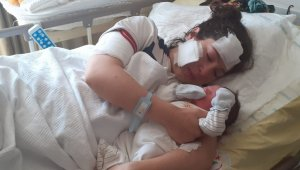 Doğum yapan karısını bıçaklayan zanlıdan şok savunma