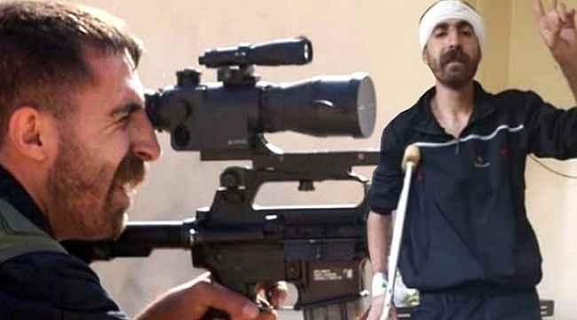 Dürbün kapağını açmadan ateş eden teröristin son hali