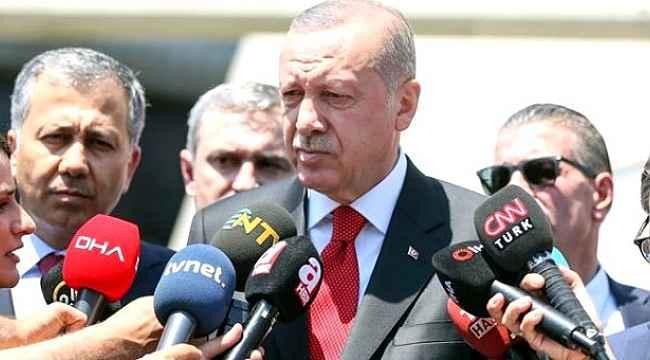 Erdoğan'dan ABD ile yapılan anlaşmayla ilgili ilk açıklama