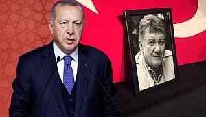 Erdoğan'dan son yolculuğuna uğurlanan oyuncunun eşine başsağlığı