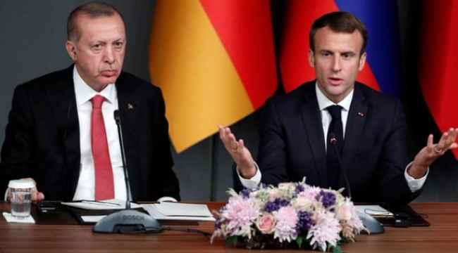 Erdoğan'dan 'Süre uzatılsın' diyen Macron'a tepki,
