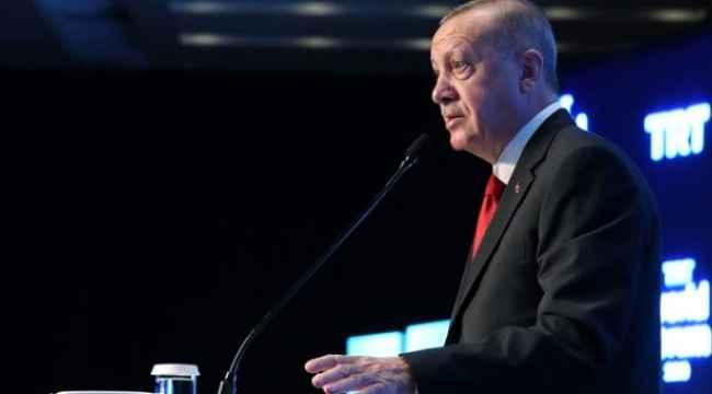 Erdoğan, foruma katılmayanlara sert çıktı. 'Terörü destekliyorlar'