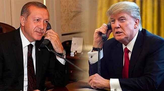 Erdoğan ve Trump, görüşmenin detaylarını Twitter'dan duyurdu
