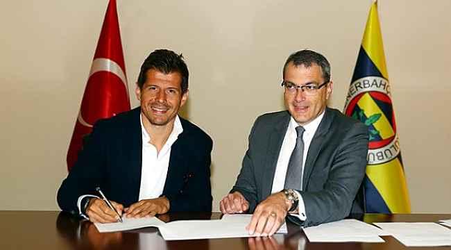 Fenerbahçe'den Emre Belözoğlu'na farklı sözleşme