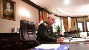 Genelkurmay Başkanı Güler Rus mevkidaşı ile telefonda görüştü