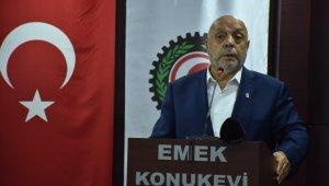 """HAK-İŞ Genel Başkanı Arslan: """"HAK-İŞ'e bağlı sendikalarda 5 binden fazla işçi işten atıldı"""""""