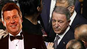 Hulusi Akar ile Metin Şentürk'ün diyaloğu resepsiyona damga vurdu