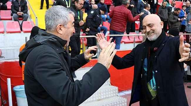 Kayserispor'un yeni hocası Samet Aybaba oldu