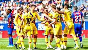 Messi, Suarez ve Griezmann attı, Barcelona Eibar'ı 3-0 mağlup etti