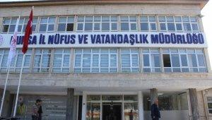 Nüfus Müdürlüğü yeni binasına taşındı, 547 bin lira kira ödemekten kurtuldu