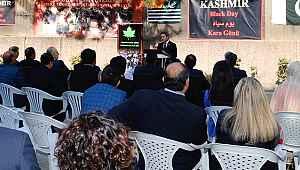"""Pakistan Büyükelçiliği'nde """"Keşmir Kara Gün"""" etkinliği"""