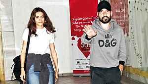 Şener Özbayraklı oyuncu sevgilisi Şilan Makal ile ilk kez görüntülendi