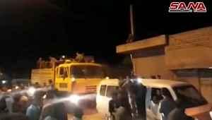 Suriye ordusu, terör örgütü YPG'nin kontrolündeki Kobani kentine girdi