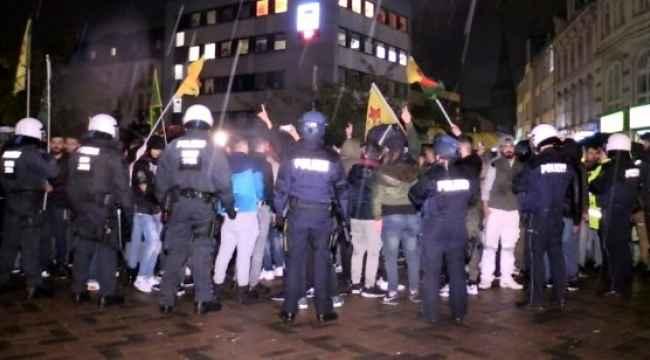 Terör örgütü yandaşları Almanya'da Türk gençlere saldırdı
