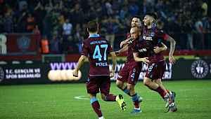 Trabzonspor evinde Gaziantep'i 4-1 mağlup etti