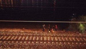 Trenin çarptığı vatandaş hayatını kaybetti