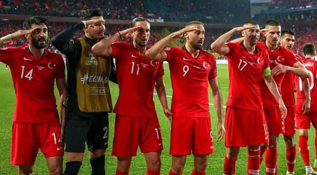 UEFA'dan asker selamı skandalı! Milli Takım'ın inceleme başlatıldı