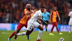 UEFA Şampiyonlar Ligi'nde Galatasaray, PSG 1-0 mağlup oldu