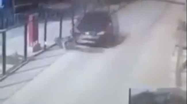 Vicdansız sürücü yolun kenarında duran köpeği böyle ezdi - Bursa Haberleri