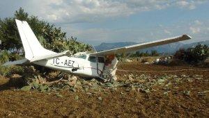 Yoldan çıkan uçak pilotunun 'Uçakta yolcuydum' yalanı jandarmaya takıldı