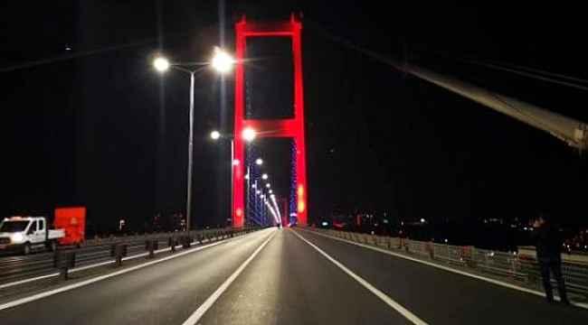 15 Temmuz Şehitler Köprüsü'nde intihar! Bir vatandaş kendini köprüden attı