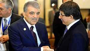 Abdullah Gül'ün Ahmet Davutoğlu planı belli oldu: