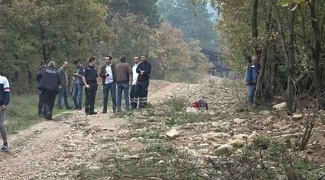 Ağaca asılı halde erkek cesedi bulundu - Bursa Haberleri