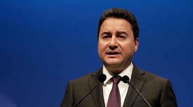 Ali Babacan'ın kuracağı partide dikkat çeken ''Demokrat' ibaresi