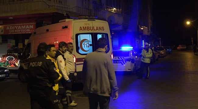 Alkollü sürücülerin satırlı ve demir çubuklu kavgasına polisten müdahale