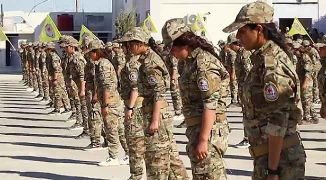 Amerika, YPG'li kadın teröristleri eğitmek için akademi kurdu