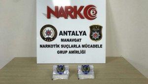 Antalya'da durdurulan araçtan uyuşturucu çıktı
