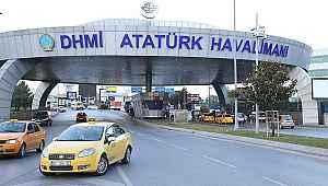 Atatürk Havalimanı'nda feci kaza