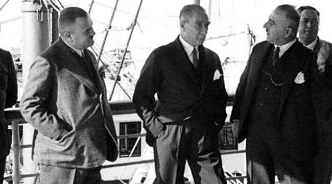 Atatürk'ün daha önce yayınlanmayan görüntüsü yayınlandı