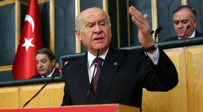 Bahçeli'den Erdoğan'ın ABD ziyaretine destek,
