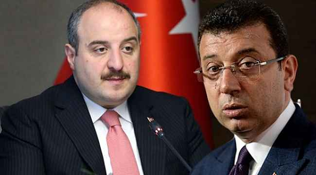 Bakan Varank'tan İmamoğlu'na çok sert tepki: 'Kimlere peşkeş çekiyorsun'