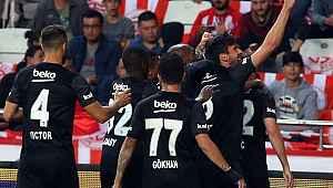 Beşiktaş 195 gün sonra deplasmanda kazandı