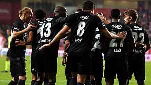 Beşiktaş, Antalyaspor'u 2-1 mağlup etti