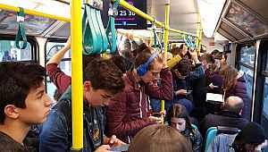 Bursa'da tren durdu, hayat kurtuldu - Bursa Haberleri